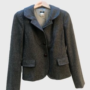 Women's J. Crew Classic Gray Wool Blazer